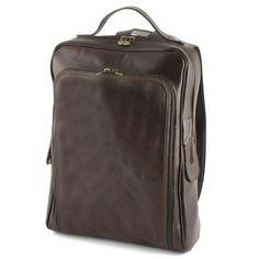 Leren Rugtas Pianosa Donkerbruin |#bag #bags #leatherbag #leatherbags #officebag #businessbag #briefcase #aktetas #tas #lerentas #backpack #rugtas > www.marington.nl $233.00 / €179.95