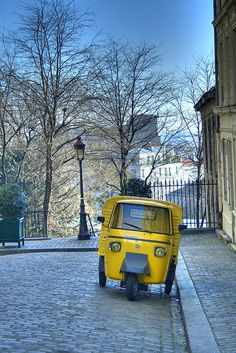 Yellow Lemon Car ...it will make you smile and put some sunshine in your life.