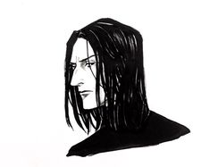 Rewatching the movies brought back up the Snape Feels, so here I am (trying to find a way to draw him that's only part Rickman, and part 'thin, angular' and closer to the book age of mid Harry Potter Severus Snape, Slytherin Harry Potter, Harry Potter Facts, Harry Potter Characters, Hermione Granger, Draco Malfoy, Hogwarts, Ravenclaw, Young Severus Snape