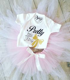 Check out this item in my Etsy shop https://www.etsy.com/uk/listing/536452112/pretty-little-thing-baby-grow-bodysuit