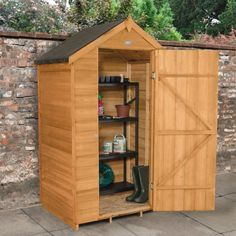 Hartwood 4' x 3' Windowless Overlap Apex Shed - Cheap Sheds - Sheds
