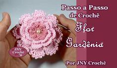 Passo a Passo de Crochê Flor Gardênia por JNY Crochê