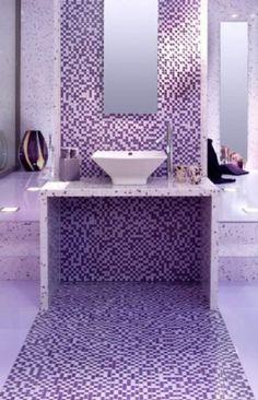 bagni moderni mosaico - cerca con google | bagno style | pinterest ... - Bagni Moderni Mosaico