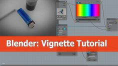 How to add a vignette with Blender