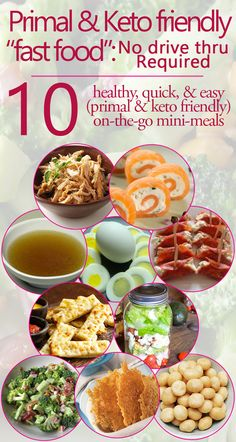 Keto & primal friendly on the go eating guide