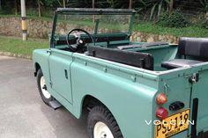 'Alfie' 1960 Land Rover Series II 88 by Volcan 4x4