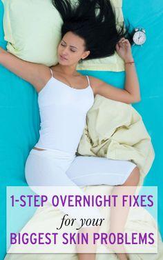 ways to get amazing skin while you sleep