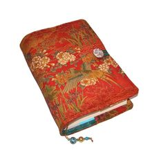 Handmade Book Cover Bible Sleeve Vintage by WhimsyWooDesigns