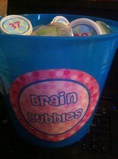 Brain Bubbles - Idea for Early Finishers