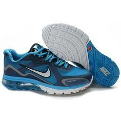 meet 699a7 85419 Most Wanted Nike Air Max Alpha 2011 Men University Blue Blue Sapphire-White  Shoe