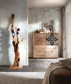 Kommode mit 4 Türen: kreatives Design von AMBIA HOME!                                                                                                                                                                                 Mehr