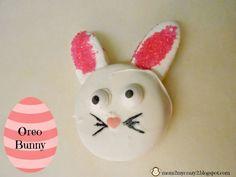 Easter Treats ... Oreo Bunny