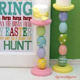 love these cute easter egg candle sticks!