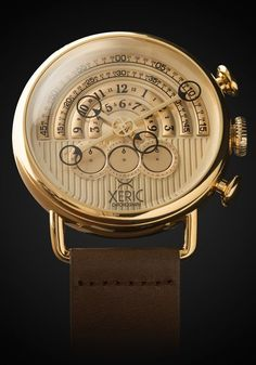 Halograph Chrono Quartz Gold