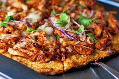 Light BBQ Chicken Pizza | Tasty Kitchen: