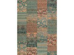 Klasický kusový koberec Kashqai 4327-400 tyrkysový