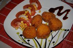 Croquetas de batata y arroz   Paraíso Vegetal