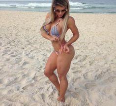 Roberta Zuñiga muestra su cuerpazo modelado por el fitness ...