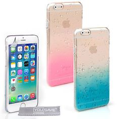 #Yousave accessories apple i#phone 6s new clear rain drop hard #phone case #cover , View more on the LINK: http://www.zeppy.io/product/gb/2/391286020237/