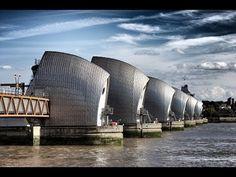 Flood Prevention | Thames Flood Barrier U.K. | 6 min
