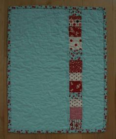 "Instructions for making a 18"" doll sized quilt, pillow, pillow cases."