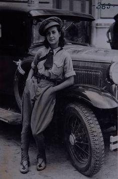 Spain - 1936. - GC - Madrid - miliciana