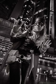 Cosplayer: Sirene as Barbara Gordon Photography by Kevin Chan, Youmacon '14.