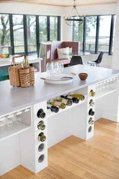 At DIY Network's Blog Cabin 2016, the open and expansive kitchen is illuminated by a clean white color palette and streaming natural light >> http://www.diynetwork.com/blog-cabin/2016/kitchen-and-pantry-pictures-from-diy-network-blog-cabin-2016-pictures?soc=pinterest