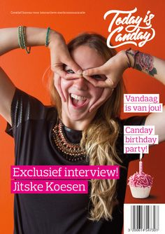 Canday cover: Jitske Koesen - Canday 1e Birthday Party