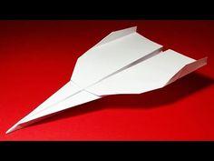 Comment faire un Avion en Papier qui vole Très Bien et Longtemps   Grey - YouTube