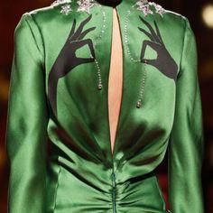 The spirit of Elsa is back at #Schiaparelli - #PFW Paris Fashion Week 2015...Yea!!!!!!