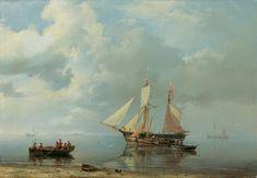 Hermanus Koekkoek - Hollands kustlandschap 1849
