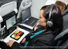 Alaska Airlines passengers to use electronic devices gate to gate, Wi-Fi at 10,000 feet Read more at http://www.rushlane.com/alaska-airlines-use-electronic-devices-1295308.html#CXFe3OXsY0yKP3tt.99