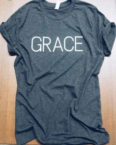 "We cannot get enough of this comfy favorite! ""For by grace you have been saved through faith. And this is not your own doing; it is the gift of God."" -Ephesians 2:8 SIZING: We recommend ordering one s"
