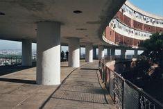 Rio de Janeiro, Pedregulho housing. Architect Affonso Reidy, 1951.