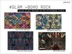 Autumn/Winter 2017/18 Print & Pattern Trend Report - Boho Rock