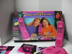 Dream Phone Board Game. I'm pretty sure I had every cheesy board game out in the 80's and early 90's.