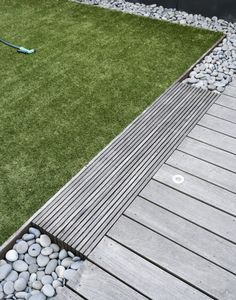 Julie Farris Brooklyn roof garden artificial turf by Matthew Williams