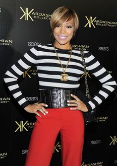 I am about to make me some red pants and BW striped top...love it! go ahead Monica.