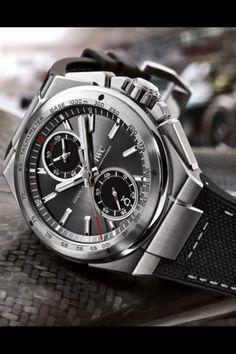 cf5b83b52 IWC Ingenieur Chronograph Racer Watch (Mercedes Benz AMG Partner) Dream  Watches, Luxury Watches