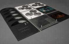 Designed by Oscar & Ewan. Limited editiondeluxeboxset (of 4000)including vinyls, CDs, DVDs and posters filled with unreleased content