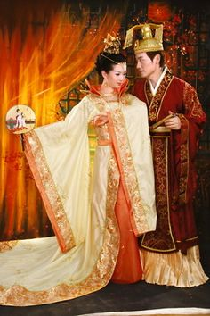 Perfect for the royal couple!! Chinese Costume / Wedding Hanfu