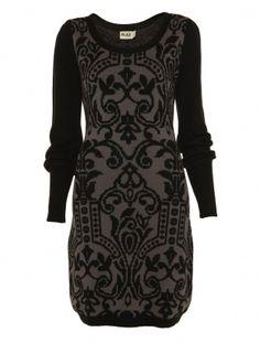 Pattern (Flame Dress; Temperley London)