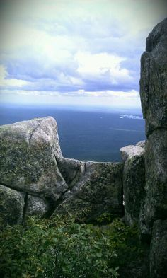 MAINE:  Atop Mt. Katahdin in Baxter State Park either NOBO or SOBO, this is the reward.