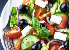 Salade grecque traditionnelle