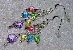 925 Silver Spring Flower Swarovski Crystal Earrings