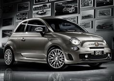 Grey Fiat Abarth