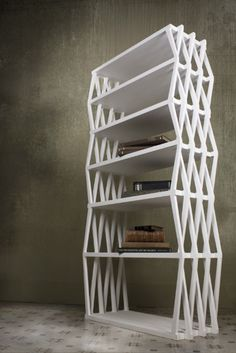ZigZag Bookcase by Viable London, image courtesy Miral Ramzy