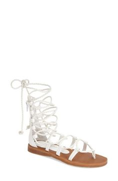 89672236475 Jeffrey Campbell  Hola  Lace-Up Gladiator Sandal (Women) available at