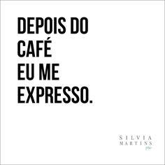 Já começaram a se expressar?☕️  #SilviaMartinsPRO #Coffee #Expresso #Marketing #MarketingParaFotógrafos #PlanoDeMarketing #Photography #Dicas